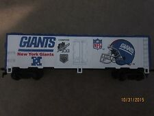 HO guage Superbowl Express Mantua New York Giants train car with 2 SB logoes