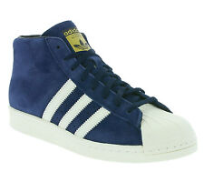 NEW adidas Originals Pro Model Vintage DLX Shoes Trainers High Top Blue B35247
