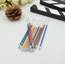 12/24/36/48 pcs Novelty Colorful Gel Ink Pen Refills Stationery School Supplies