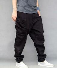 Men's spring hip-hop harem stylish loose dance pants sport trousers hot Size