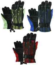 Boys Youth Winter Ski Snow Snowboard Gloves Waterproof NWT 8-12 Years #54156