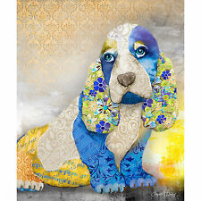 Marmont Hill - 'Unconditional Love Dog' by Connie Haley Painting Print on Wrappe