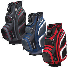 2017 CALLAWAY GOLF MENS ORG 15 CART BAG - NEW 15-WAY DIVIDER TOP TROLLEY BAG