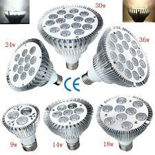 E27 9W 14W 18W 24W 30W 36W Dimmable PAR20 PAR30 PAR38 LED Light Bulb Lamp OK