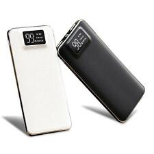 12000/20000mAh LCD Display USB External Battery Power Bank For Mobile Phone ED99