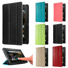 Ultra Slim Leather Case Stand Cover For Amazon Kindle Fire HD 7 2015 Tablet  7""