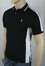Polo Ralph Lauren Performance Black White Green Pony Shirt NWT