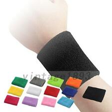 Hot Unisex Sports Cotton Wristband Wrist Band Sweat Band Sweatband Wristbands