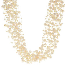 Pearls For You Women's Pearl Sterling Silver 16-inch Multi-strand Necklace