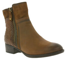 NEW CAPRICE Shoes Women's Ankle Boots Brown 9-25315-27 329