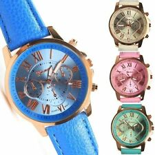 Simple Fashion Women Watch Watches Leather Strap Analog Quartz Wrist Watch