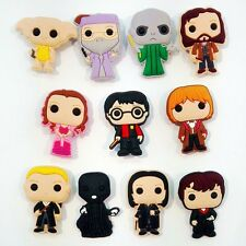 11-100pcs Harry Potter PVC Shoe Charms Accessories for Bracelet Jibbitz kid gift