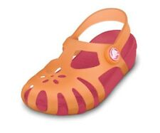 Girls Crocs Shirley Cantaloupe/Hot Pink Sandals