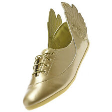 Adidas Jeremy Scott Wings Easy Five MI Trainers Trainers Shoes Gold