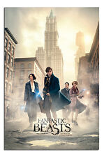 Fantastic Beasts New York Streets Poster New - Maxi Size 36 x 24 Inch
