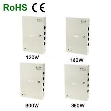 18CH Channel DC12V 10/15/20/25/30A CCTV Security Camera Power Supply Box N3T3
