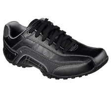 Skechers 64932 BLK Men's CITYWALK-ELENDO Oxford