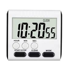 Large LCD Magnetic Digital Kitchen Timer Count Down Up Clock with Loud Alarm