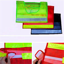 High Safety Security Visibility Reflective Work Vest Coat Gear Waistcoat