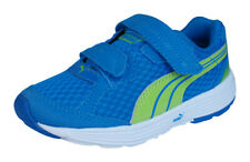 Puma Descendant V Kids Running Trainers / Shoes - Blue and Green