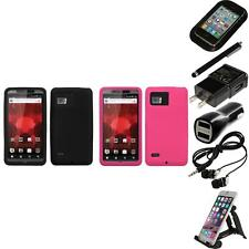 For Motorola Droid Bionic XT875 Silicone Skin Rubber Soft Case Cover Accessories