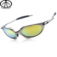 SUNNCARI Men Polarized Cycling Glasses Alloy Frame Sport Riding Eyewear CP002-5