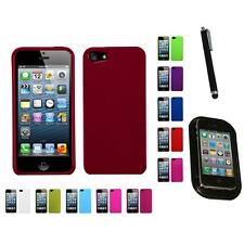 For Apple iPhone 5/5S/SE Snap-On Hard Case Phone Cover Skin Accessory Mount+Pen