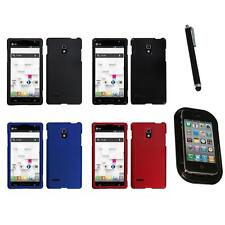 For LG Optimus L9 P769 T-Mobile Snap-On Hard Case Phone Skin Cover Mount+Pen