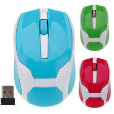 2.4GHz 1200DPI USB Wireless Mouse Optical Mice + Receiver For Computer PC Laptop