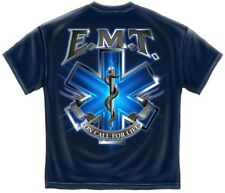 EMT Ambulance On Call For Life Emergency Services T-Shirt