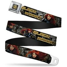 Avengers Marvel Comics Superheroes Black Widow Attack Seatbelt Belt