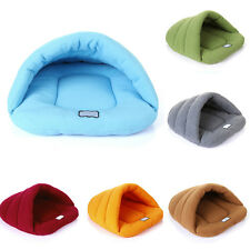 Soft Warm Puppy Pet Bed House Cat Dog Plush Fleece Cozy Nest Mat Pad Cushion New