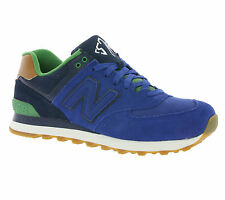 New New Balance 574 Shoes Men's Sneakers Sneakers Blue ML574NEA