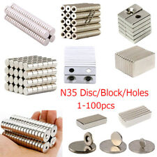 Lot Super Strong 25mm x 2mm Round Disc Magnets Rare Earth Neodymium Magnet N35