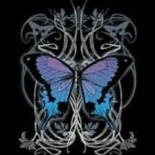 NEW GOTH ANIMAL TSHIRT - Gothic Butterfly