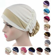 Fashion Flower Muslim Caps Hijab Arab Shawls Headwear Islamic Hats Scarf Amira
