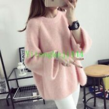 Women Sweater Autumn Spring Girl Loose Pullover Knitted Korean Jumper Top New YT