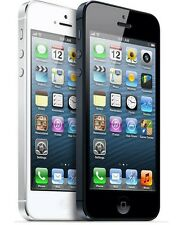 Apple iPhone 5 -16GB (Factory Unlocked) GSM Smartphone Cell Phone Black White*