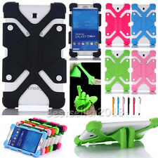 "For 7 - 8"" Android Tablet PC Kids Safe Shockproof Adjustable Silicone Case Cover"