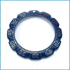 TAG Heuer Midsize BLUE F1 Bezel used but gives a great retro look to your watch