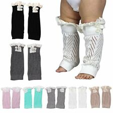 Infant Toddler Baby Boy Girls Leggings Socks Kids Leg Warmers Knee Pad Legs Boot
