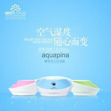 USB Ultrasonic Lotus Shaped Humidifier Aroma Air Aromatherapy Diffuser Purifier