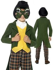 Boys Frog Prince Charming Brothers Grimm Book Week Fancy Dress Costume Outfit