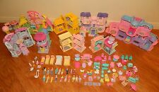 Fisher Price Loving Family Sweet Streets Huge Lot 8 Houses 75 Pieces + People