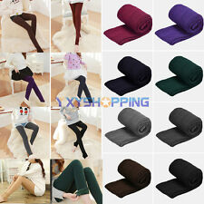 New Womens Thick Warm Fleece Lined Thermal Stretchy Skinny Leggings Cotton Pants