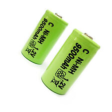 5 x C Size 9500mah  Ni-MH 1.2V Rechargeable Battery Cell green