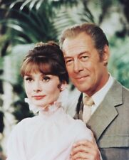 Audrey Hepburn and Rex Harrison Color Poster or Photo My Fair Lady