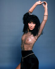 Cher Poster or Photo Sexy See-thru Top Scantily Clad 1970's