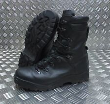 Genuine British Army Goretex Wet / Cold Weather Assault Black Leather Boots