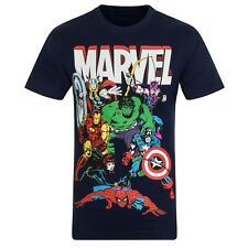 Marvel Comics Official Gift Kids Character T-Shirt Iron Man Thor
